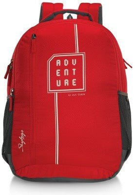 Skybag Pixel 01 Red Backpack - Adventurzz.com