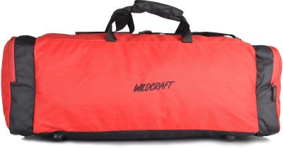 Wildcraft Power Red Duffel Bag - Adventurzz.com