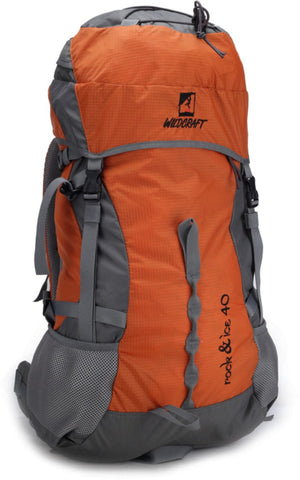 Wildcraft Rock & Ice Orange Rucksack - Adventurzz.com