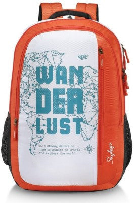 Skybag Pixel Plus 04 Orange Backpack - Adventurzz.com