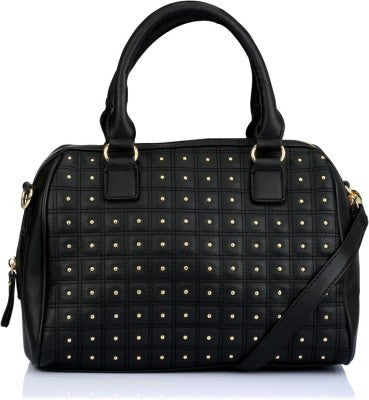 Caprese Satchel Black Handbag - Adventurzz.com