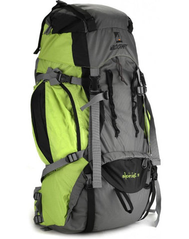 Wildcraft Alpinist 55 Ltrs Green Rucksack - adventurzz - 1