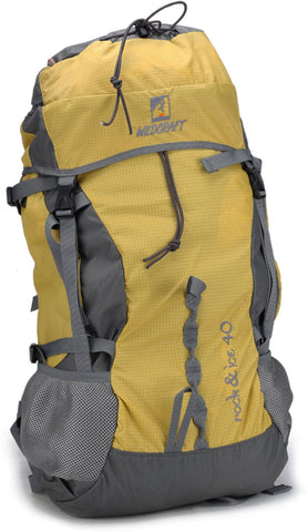 Wildcraft Rock & Ice Yellow Rucksack - Adventurzz.com