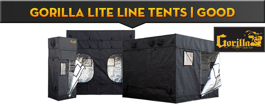 Gorilla LITE LINE Tents | GOOD