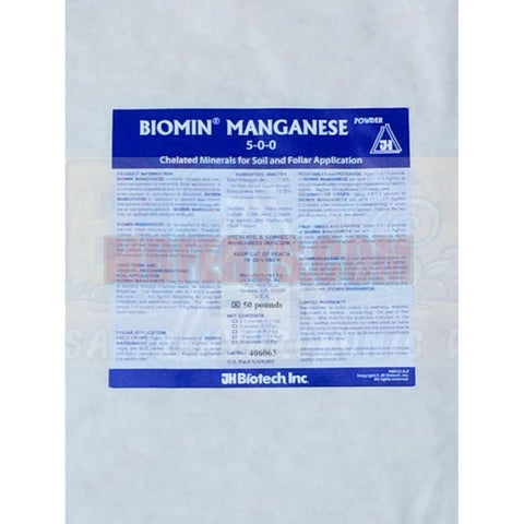 Manganese 18% Biomins Organic Glycine Chelated Proteinate Powder