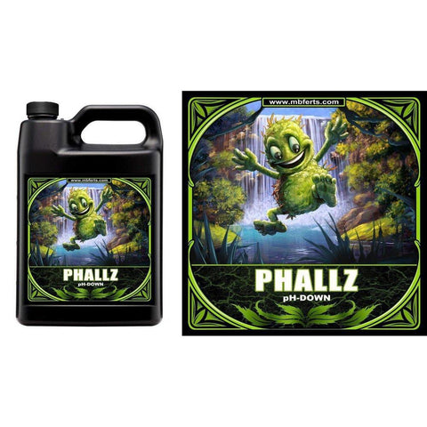 PHALLZ | pH DOWN Solution | LOWERS Waters pH DOWN