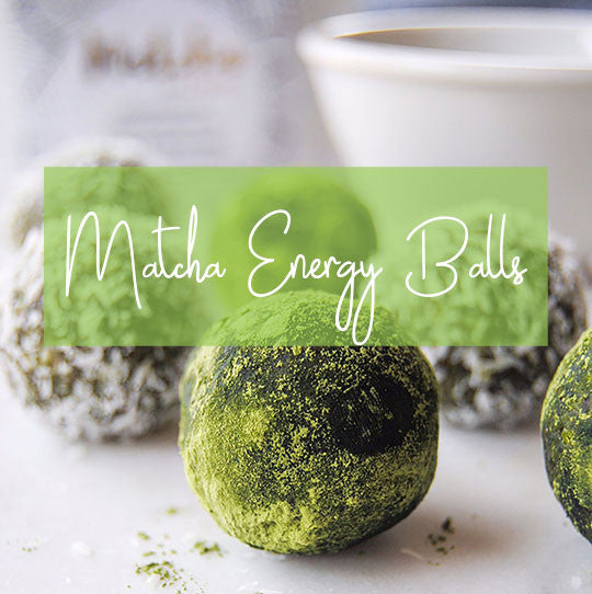 Raw Matcha Energy Balls