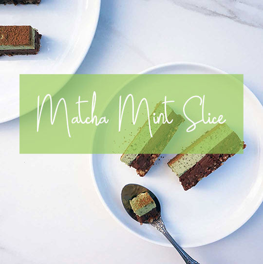 Superfood Matcha Mint Slice