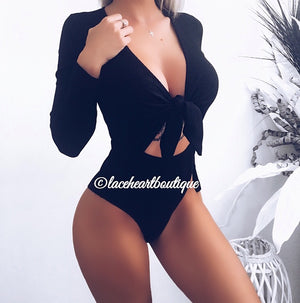 JADE BODYSUIT BLACK