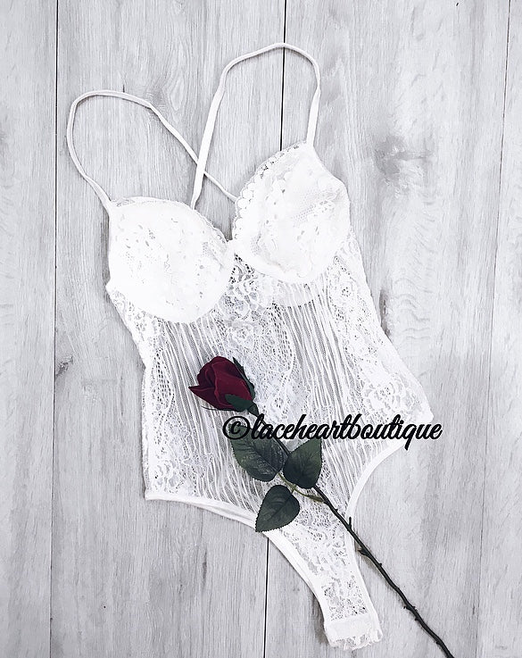 MIA BODYSUIT WHITE