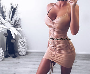 KENDALL DRESS BEIGE