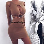COURTNEY DRESS MOCHA