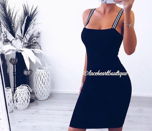 CALA MIDI DRESS BLACK