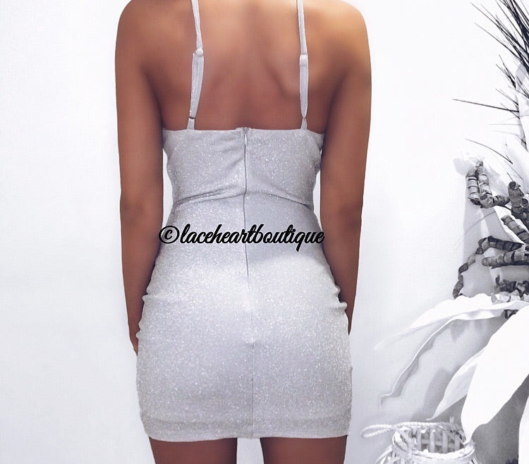 CANDICE DRESS SILVER