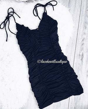 ASHTON DRESS BLACK