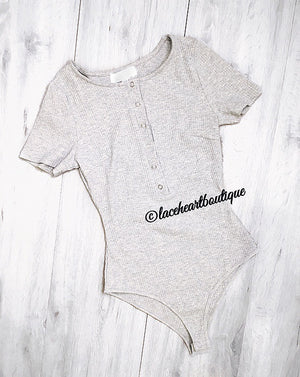 CARLY BODYSUIT GREY