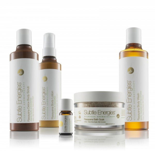 Detox your skin with Rasayana (rejuvenating) care from Subtle Energies