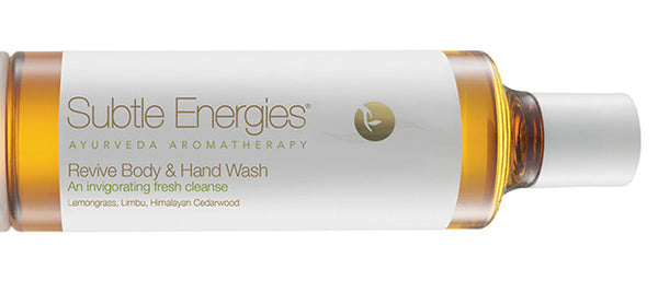 Introducing the new Subtle Energies Revive Body & Hand Wash