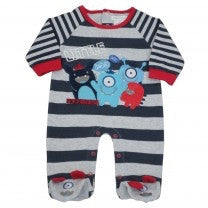 Little Monster  Romper Suit