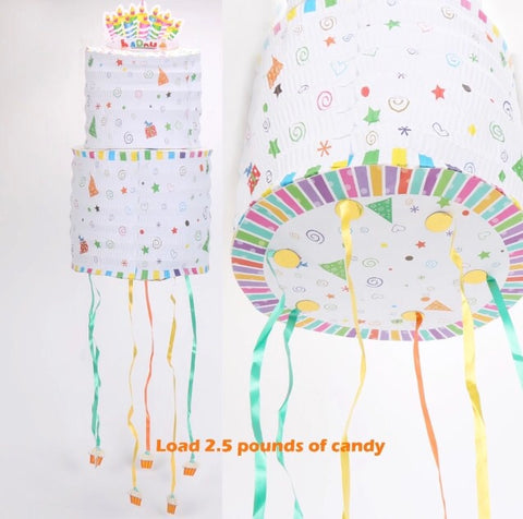 Hanging Birthday Cake Piñata