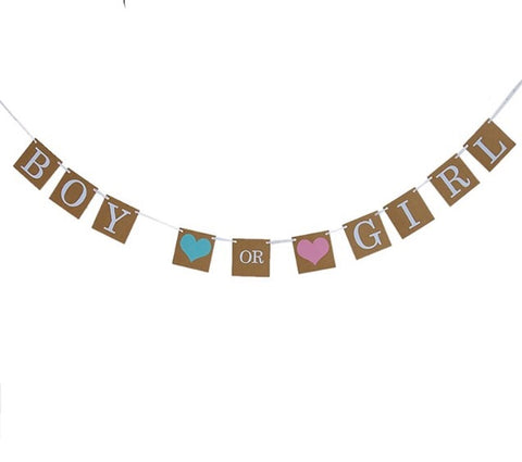 Baby Gender Reveal Sign