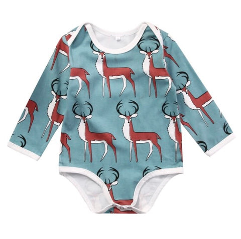Oh My Deer Romper - Rompers Baby Boutique