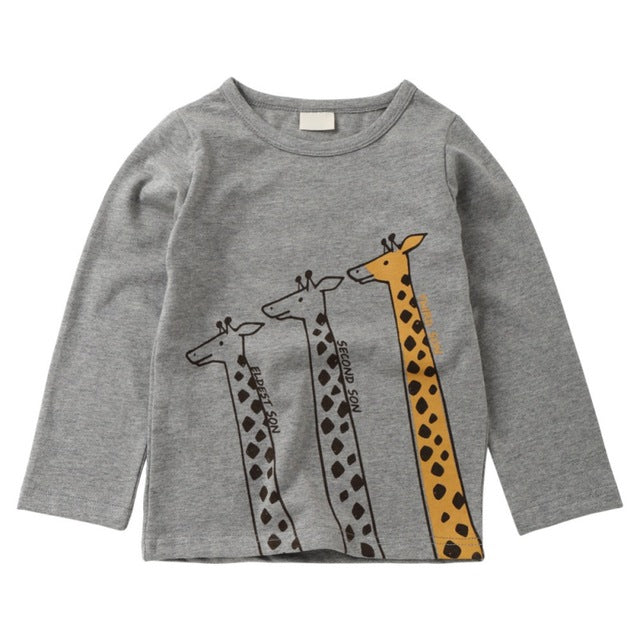 d1b222ff046 Giraffe Long sleeved Top – Rompers Baby Boutique