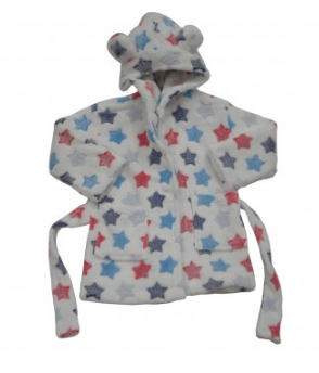Star Dressing Gown - Rompers Baby Boutique