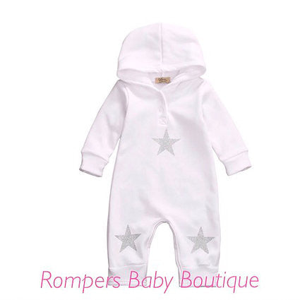 Star Romper - Rompers Baby Boutique