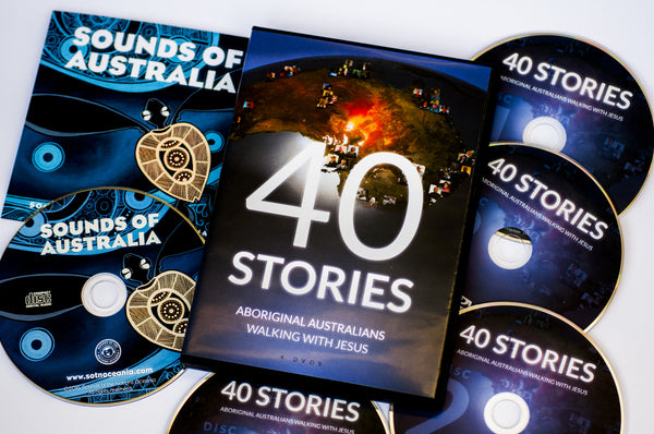 Product Bundle: 40 Stories DVD Box Set & Sounds of Australia Praise & Worship Album (CD)