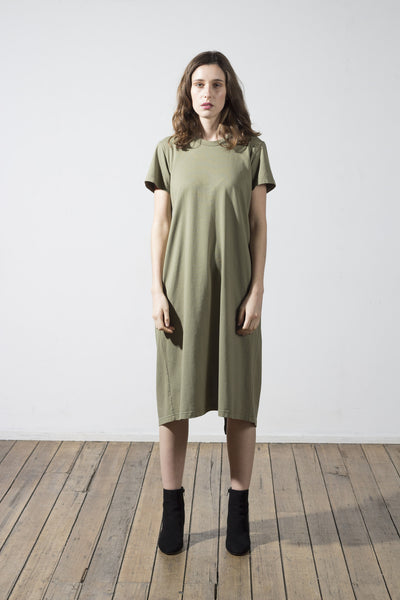 Arnold back fold dress - hid the label - 1
