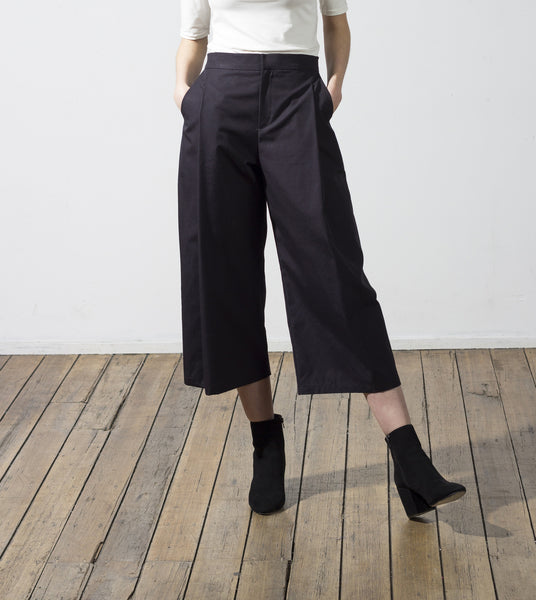 Beau Pleated Culottes - hid the label - 1