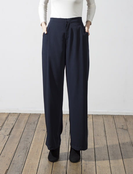 Bernard pleated pant - hid the label - 1