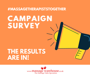 #MassageTherapistsTogether campaign - the results are in!