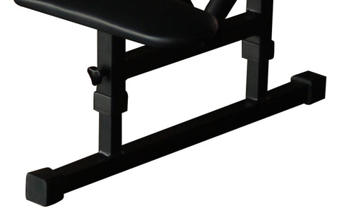 Height adjustable legs on chiropractic table