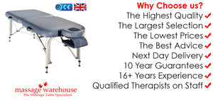 Reasons to Buy Your Massage Table Online With us - we are specialists!