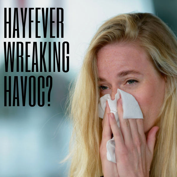 Hayfever Wreaking Havoc - design one for Massage Therapists