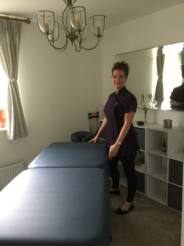 Diane Monthly Winner of Massage Table