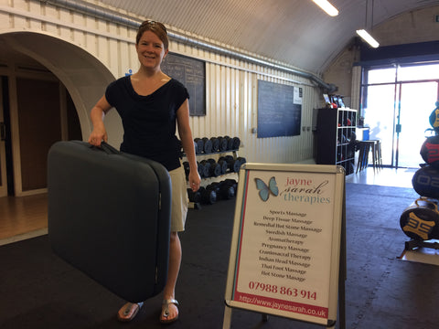 Lucky Competition Winner of LightWeight Massage Table