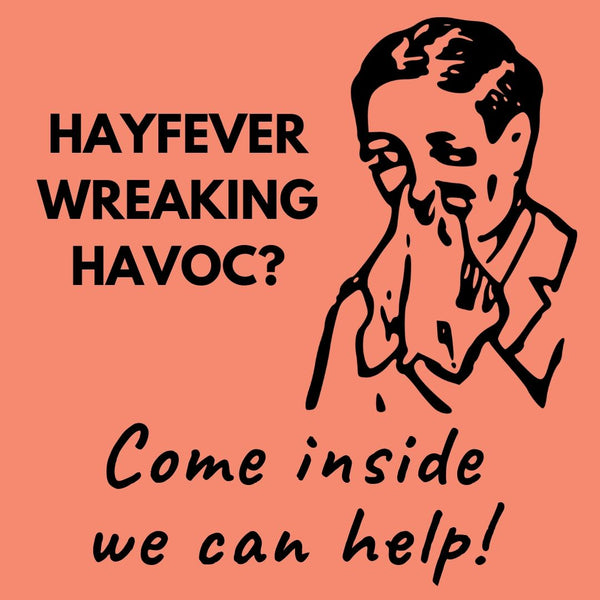 Hayfever Wreaking Havoc design 2 for Massage Therapists