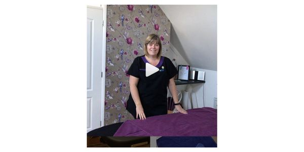 Video from fourseasontherapies introducing her treatment room