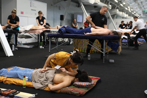 Massage therapists compete with different styles at the National Massage Championships