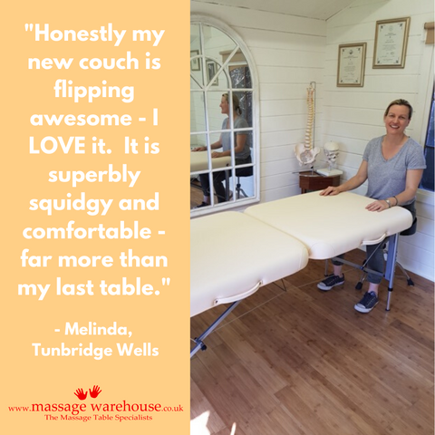 Customer review of the Porta-Lite Delta II Massage Table from Massage Warehouse from Melinda