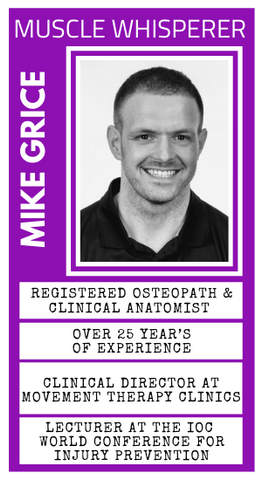 Mike Grice joins Ask The Muscle Whisperer from Massage Warehouse