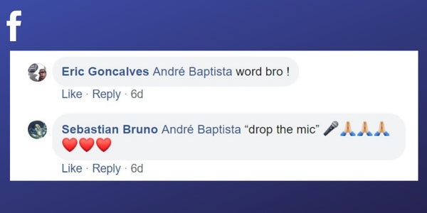 Responses to André Baptista's Facebook comment about what it takes to be the best massage therapist.