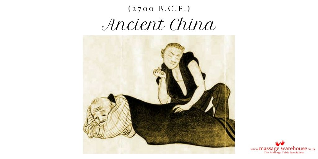 Image of massage therapy in Ancient China