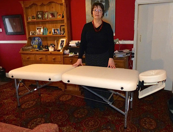 Meet Lucy Who Will Be Using Her PortaLite Delta II Massage Table For Reiki  Treatments (Wakefield).