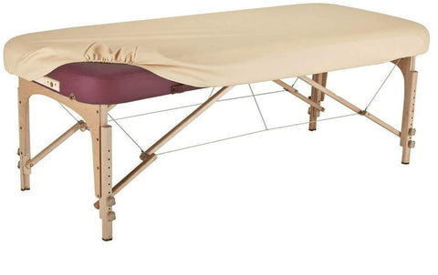 pu vinyl massage table cover