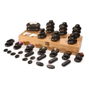 BEAUTIFUL 64 PIECE HOT STONE SET