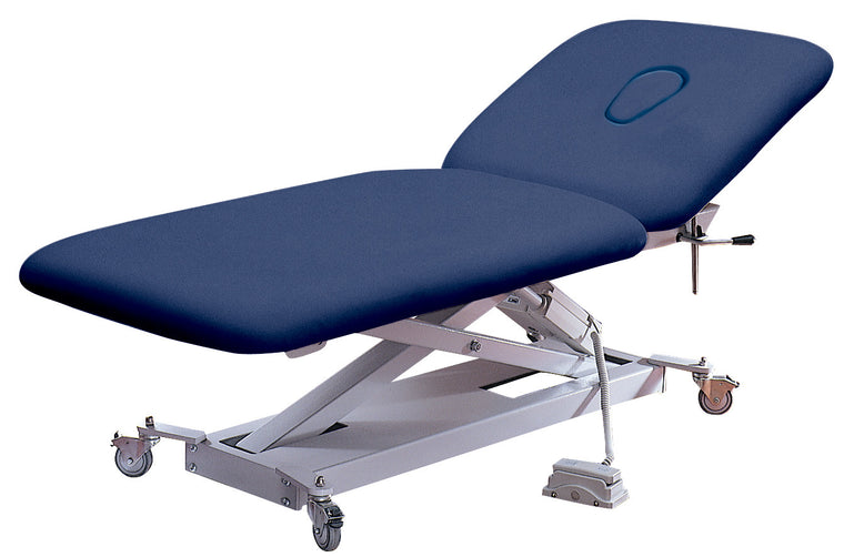 affinity powerlift 2section electric treatment couch